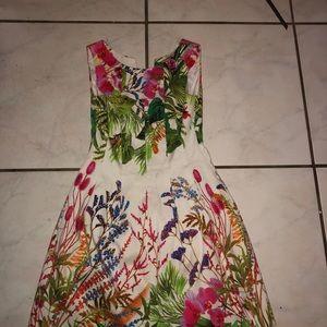 Zara Floral Dress Sz S